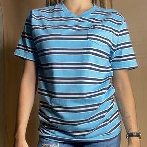 VTG Tommy Hilfiger Striped V-neck Size Large
